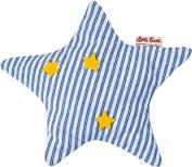 Käthe Kruse 7371573715 Organic Spelt Rye Pillow Star, Blue