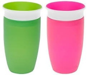 Munchkin Miracle 360 Sippy Cup (2 Pack) Pink & Green