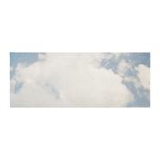 "KESS InHouse Susannah Tucker ""Carnival Tent"" Sky Clouds Bed Runner, 90cm x 220cm"