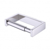 KES Toilet Paper Holder Bathroom Tissue Paper Roll Holder Spring Loaded Stainless Steel Polished Finish, A23075