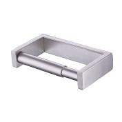 KES Toilet Paper Holder Bathroom Tissue Paper Roll Holder Spring Loaded Stainless Steel Brushed Finish, A23075-2