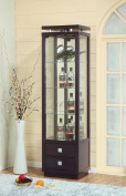 11453 Smart Home Atlantis Bar Wine Cabinet Curio