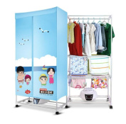 STEAM PANDA Home Drying Wardrobe PTC Heating Clothing dryer 700w/1400w 0-12h Timer Suitable for All Fabrics