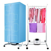 STEAM PANDA Hot Air Machine Stand Fast Air Dry Hot Wardrobe Laundry Clothes Dryer 900w PTC Heating Timer 180min Home Drying Wardrobe