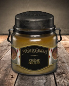 Double Wick Classic 470ml-CREME BRULEE by McCall`s Candles