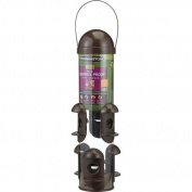 Pennington Seed Squirrel-Proof Wild Bird Feeder, Holds 1.4kg of Bird Seed and Feed
