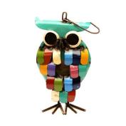 Rustic Arrow Owl 41cm x 18cm x 10cm Birdhouse
