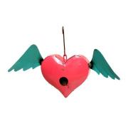 Rustic Arrow Hanging Heart 28cm x 46cm x 13cm Birdhouse