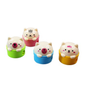 Holo Cute Cartoon Bear Pencil Sharpener Student Gift Prize Stationery