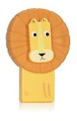 NPW Novelty Pencil Sharpener W/ Pencil Rubber - Lion Sharpener & Eraser Set Jungle Pals