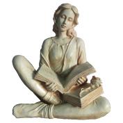 Hi-Line Reading Lady Statue