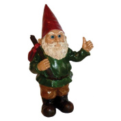 Michael Carr Hitchhiker Gnome Resin Statue