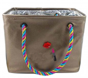Fashion Bathing Basket Waterproof Wash Bag Portable Bath Baskets [beautiful]