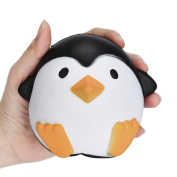 2018 Newest Slow Rising Squeeze Toys, Kanpola_Toys 12cm Cute Penguins Squishy Soft Stress Reliever Cream Scented Decompression Toy