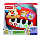 Fisher-Price Laugh & Learn Puppy's Piano IN GREEK LANGUAGE