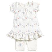 Natures purest My 1st Friend Organic Cotton Dress & Leggings Set - 0-3 Months