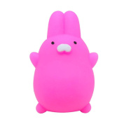 Cute Mochi Squishy Cat Squeeze Healing Fun Kids Kawaii Jumbo Toy Slow Rising Stress Reliever Home Decor Hot Pink - Great Soft Toys gift for Kids & Adults Kawaii Squishy Sensory Play Stress Relief Toy For Autism ADHD ADD OCD