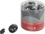 Brunnen Colour Code Pencil Sharpener with Eraser – White, 60 x 41 x 62 mm