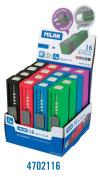 Milan 4702116 Display 16 Sharpener Eraser-Stick