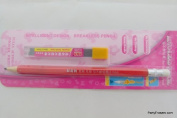 Auto-Lead Mechanical Pencil with Rubber Eraser Top - Red