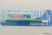 Auto-Lead Mechanical Pencil with Rubber Eraser Top - Green