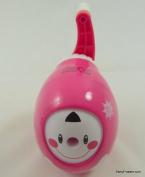 Smiley Face Girl Egg Shape Desktop Pencil Sharpener