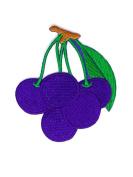 Fruit Cartoon Hippie Retro Biker Jacket T-shirt Vest Patch Sew Iron on Embroidered Badge Custom