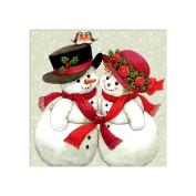niceEshop(TM) DIY Diamond Painting Kit, Rhinestone Embroidery Christmas Snowman Arts Craft for Home Wall Decor