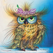 Colourful(TM) Home Decor Cute Owl 5D Diamond Painting Embroidery DIY Cross Stitch Kit