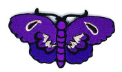 Purple Butterfly patch Ideal for adorning your jeans, hats, bags, jackets and shirts