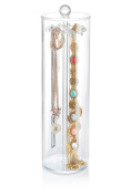 necklace holder - Acrylic jewellery organiser contains 12 hooks necklace organiser