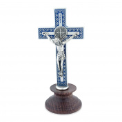 Italian Catholic Desktop Saint Benedict Crucifix