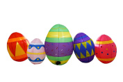 SEASONBLOW 1.8m Easter Egg Inflatable Eggs Decoration for Indoor Outdoor Home Yard Lawn Decor