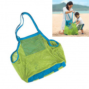Chytaii Mesh Beach Bag Large Mesh Tote Bag Sand Away Beach Bag Carrying Kids Toys Clothes Sandy Shoes Wet Towels