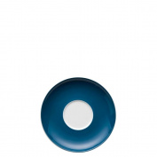 Thomas Sunny Day Saucer for Cappucciono Cup 380ml, Porcelain, Petrol Blue, Dishwasher Proof, 16.5 cm, 14671