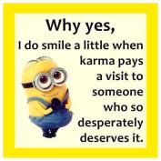 Funny Minions Karma - COASTER