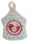 Patchwork Birdhouse Easter Egg Cosy-Spotty