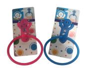 Bathroom Suction Cup Towel Rail Ring Holder Hook Hanger PINK COLOUR