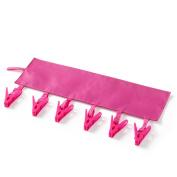 Albeey Foldable Cloth Hanger Clips Socks Drying Racks Bathroom Rack for Travelling