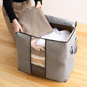 Bureze High Capacity Clothes Quilts Storage Bags