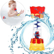 GreatestPAK Bath Toy - Submarine Spray Station - Battery Operated Water Pump With Hand Shower And More