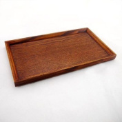 Welim Tray Tea Tray Wooden Tray Serving Tray Rectangle Tray Apply to tea and coffee or Food and so on Environmentally friendly and durable