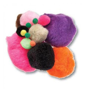 Impex Craft Pom-Poms for Crafts Assorted Colours/Sizes