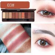 HKFV Fashion Eyes Makeup Colour Eyeshadow Set Charming Design Eyes Makeup 10 Colours Eyeshadow Palette Cosmetic Makeup Shimmer