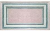 The Rug Market Madison Plush Floor Rug, Pink/Grey/White, 2.8x4.8