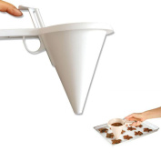 Creazy Adjustable Chocolate Funnel for Baking Cake Decorating Tools Kitchen