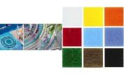 Glorex Mosaic Tiles Mosaic, White, 13.5 X 7.5 X 2.7 cm