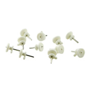 Mini 100 Pcs Non-Trace Invisible Wall Picture Photo Frame Clock Mirror Hangers Hooks Pins Studs
