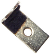 Hard-to-Find Fastener 014973157302 16Ga Mirror Clip, 2.5cm x 1.3cm