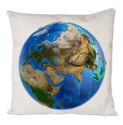 World Map, Pillow Case, Cushion Cover, Home Sofa Décor